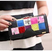 3 Fold Genuine Leather Women Wallets