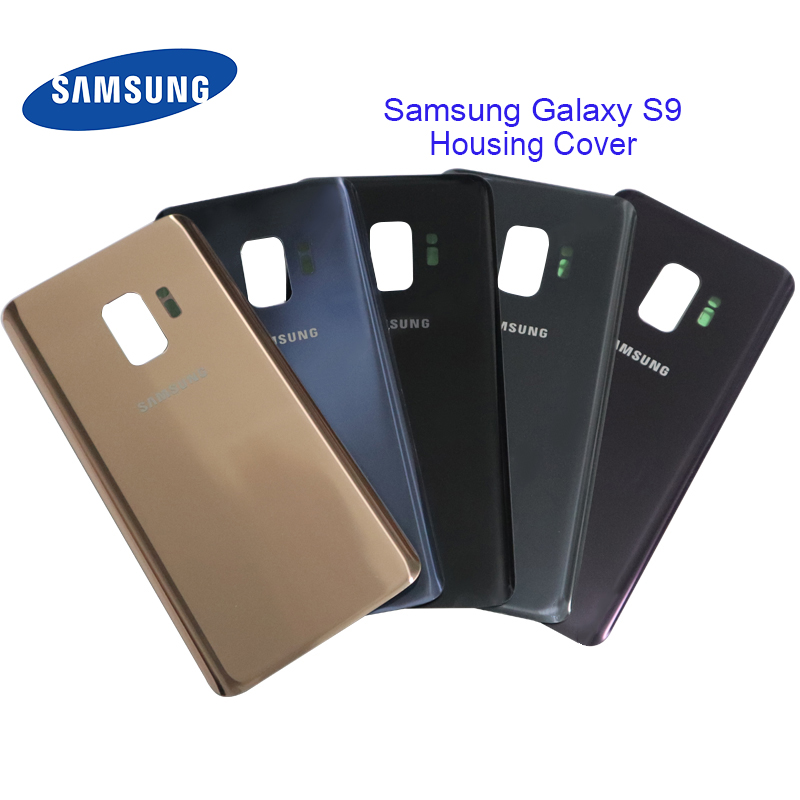 Samsung Replacement Back-Battery Cover Case Glass Galaxy Rear Door 3D for S9 G960f/g960