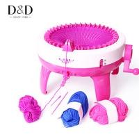 40 Needles Children Knitting Machine Big Hand Weaving Loom DIY Scarf Hat Children Toys