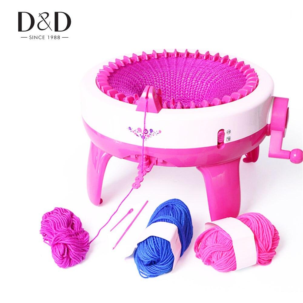 Ev ve Bahçe'ten Dikiş Araçları ve Aksesuarları'de 40 iğne pozisyon büyük el örgü makinesi dokuma tezgahı örgü DIY eşarp şapka çocuk eğitici oyuncaklar yılbaşı hediyeleri'da  Grup 1