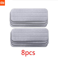 Xiaomi Mijia Deerma Replace Mop Cloth Rags for Mi Mijia Water Spray Mop 360 Rotating Cleaning Cloth Head Wooden Carbon Fibe Smart Remote Control