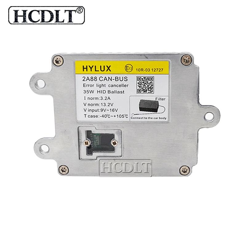 HCDLT 3 ans de garantie 35 W Hylux Hyluxtek 2A88 Canbus HID Ballast AC 12 V ASIC puces Hylux réacteur bloc d'allumage accessoires de voiture