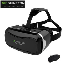 "VR Shinecon 2.0 II 3D Virtual Reality Glasses VR Box Headset for 4.0~6.0"" Smartphone Shinecon VR Glasses for iPhone Samsung Mii"