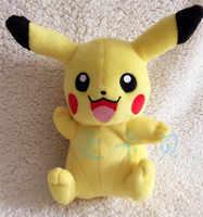 """Pikachu 8 """"Plüsch [Verlegung Unten, die Augen Geschlossen, Öffnen Mund], qualität waren Weiche Angefüllte Plüsch Spielzeug Kostenloser Versand"""