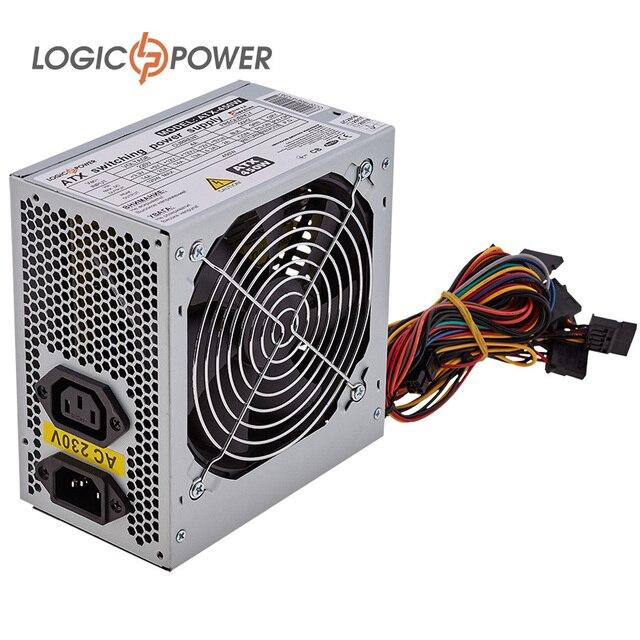 psu LOGIC POWER PC power supply ATX 450W, 12 cm, 2 SATA, OEM #1637 ...