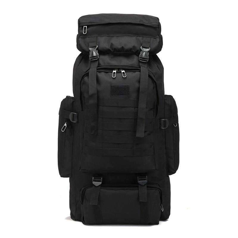 Открытый тактический рюкзак альпинизм сумки спортивные Backapcks пеший туризм кемпинг спортивная сумка двойной плечо посылка 80L