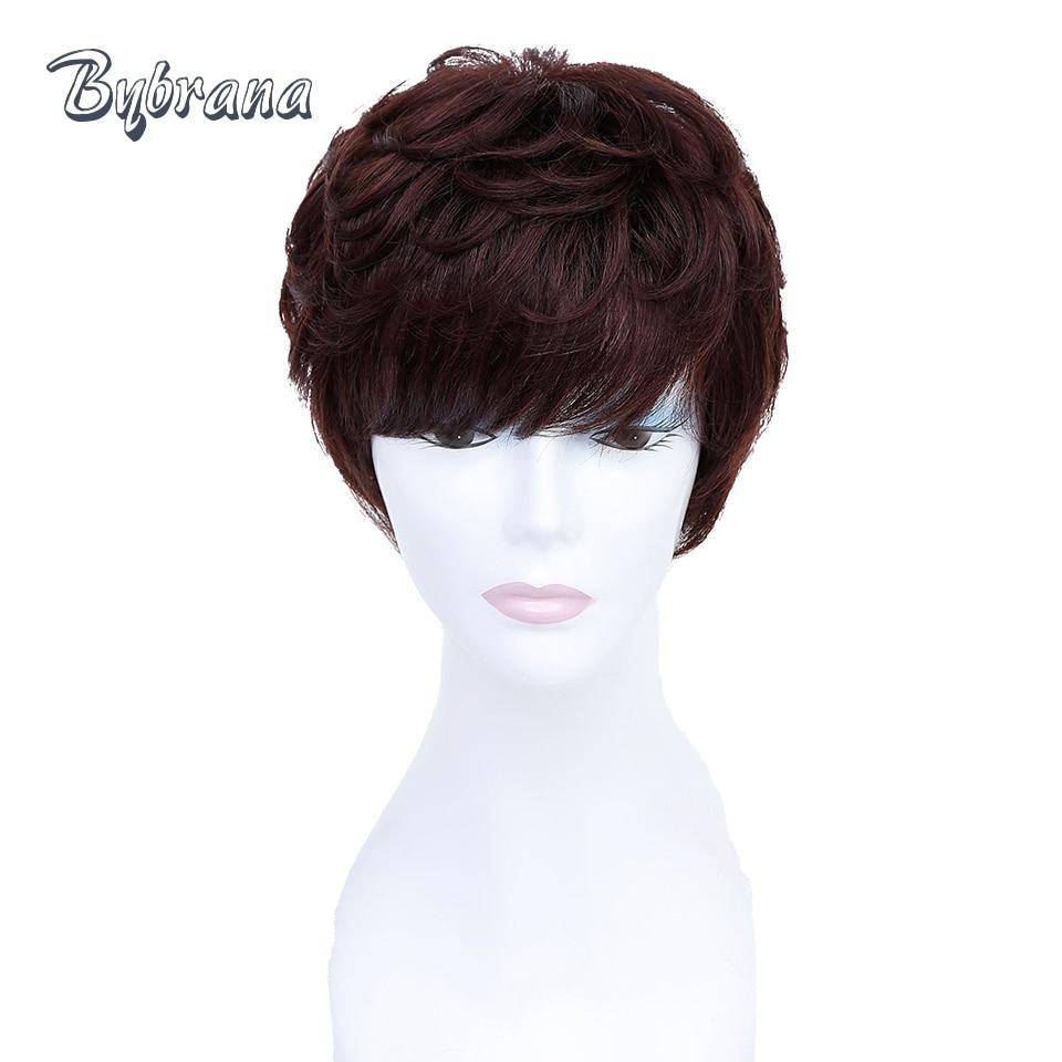 Bybrana Korta Mänskliga Pärlor Med Babyhår Brasilianska Remy Hår - Mänskligt hår (svart)
