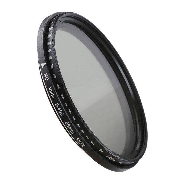 Camera Lens Filter Variabele Neutral Density Nd Filter 37 40.5 46 49 52 55 58 62 67 72 77 82mm Voor Canon Nikon Sony Fujifilm Dslr