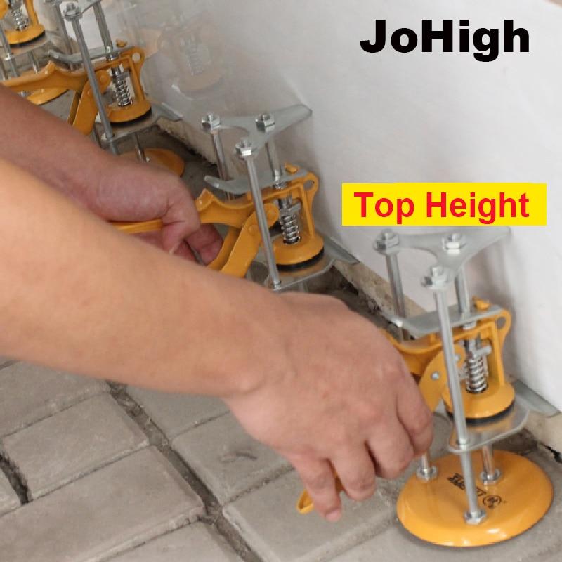 JoHigh 1 Piece Tile Leveler Wall Tile Auxiliary Tool Single Pillar Wall Tile Height Regulator Steel+PP Material