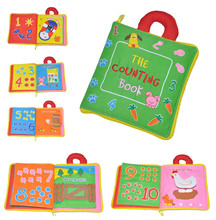 Развивающие детские игрушки Лидер продаж младенческой Дети раннего развития Тканевые книги обучения образования разворачивается деятельность книги DS19