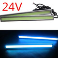 "6.8"" 17cm LED COB Truck Bus Auto DRL Driving Daytime Running Lamp Fog Light ICE BLUE 24V"