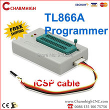 Бесплатная Доставка TL866A Программист Последней версии ICSP SPI внутрисхемного Поддержка win7 win8 Лучшее качество Низкой цене с Розничной коробка