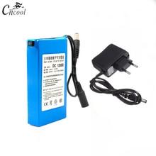 где купить Cncool DC 12V 6800mAh Rechargeable Battery DC 12V Lithium Li-ion Battery Pack US/EU Plug For Cameras camcorders Accumulator по лучшей цене