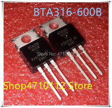 NEW 10PCS/LOT BTA316-600B BTA316-600 BTA316 600B BTA316600B  600V 16A TO-220 IC