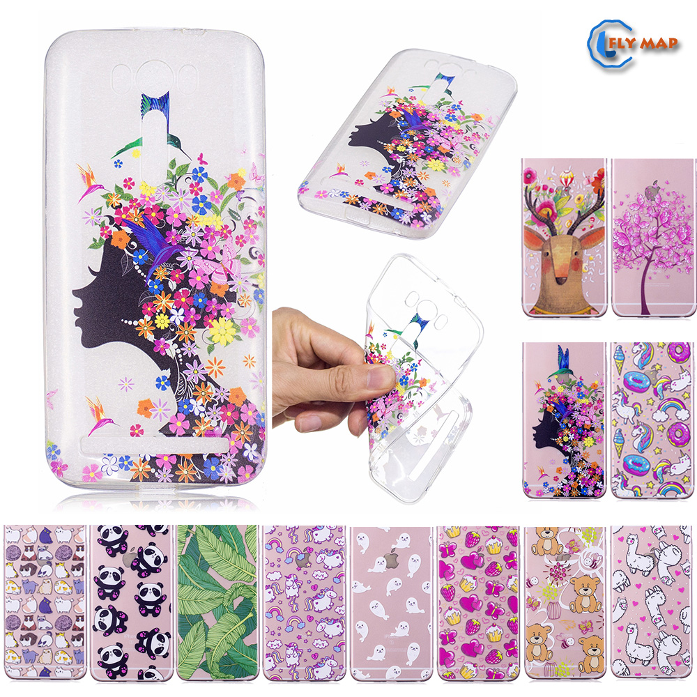 Fitted Case for ASUS Zenfone <font><b>2</b></font> Laser ZE500KL <font><b>ZE</b></font> <font><b>500KL</b></font> Soft TPU Silicone Cover Phone Case for ASUS Z00ED ASUS_Z00ED <font><b>ZE</b></font> 500 KL Bag image