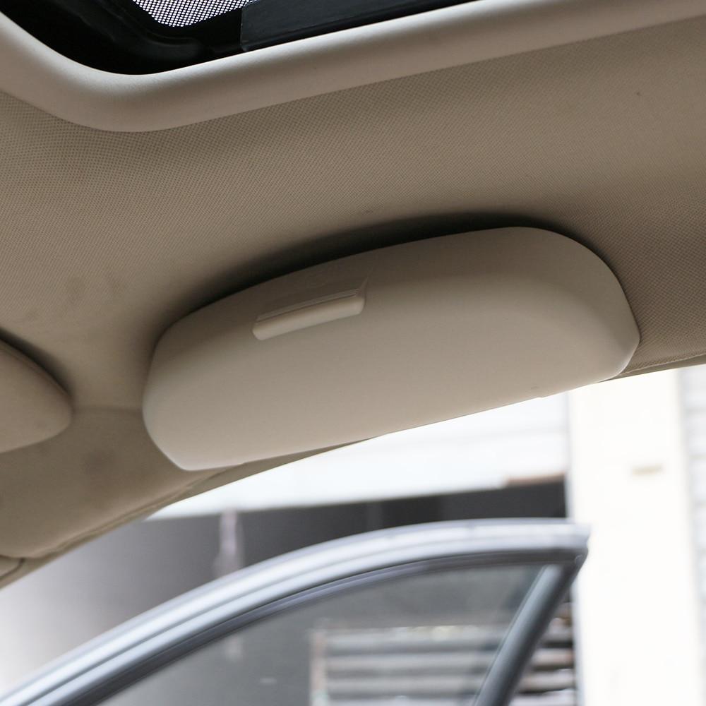 jameo auto car glasses case organizer box sunglasses holder storage pockets for renault koleos kadjar duster for samsung qm6 qm3 [ 1000 x 1000 Pixel ]
