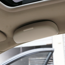 Jameo авто очки Дело Организатор Box Солнцезащитные очки держатель карманы для хранения Renault Koleos Kadjar тряпка для samsung QM6 QM3