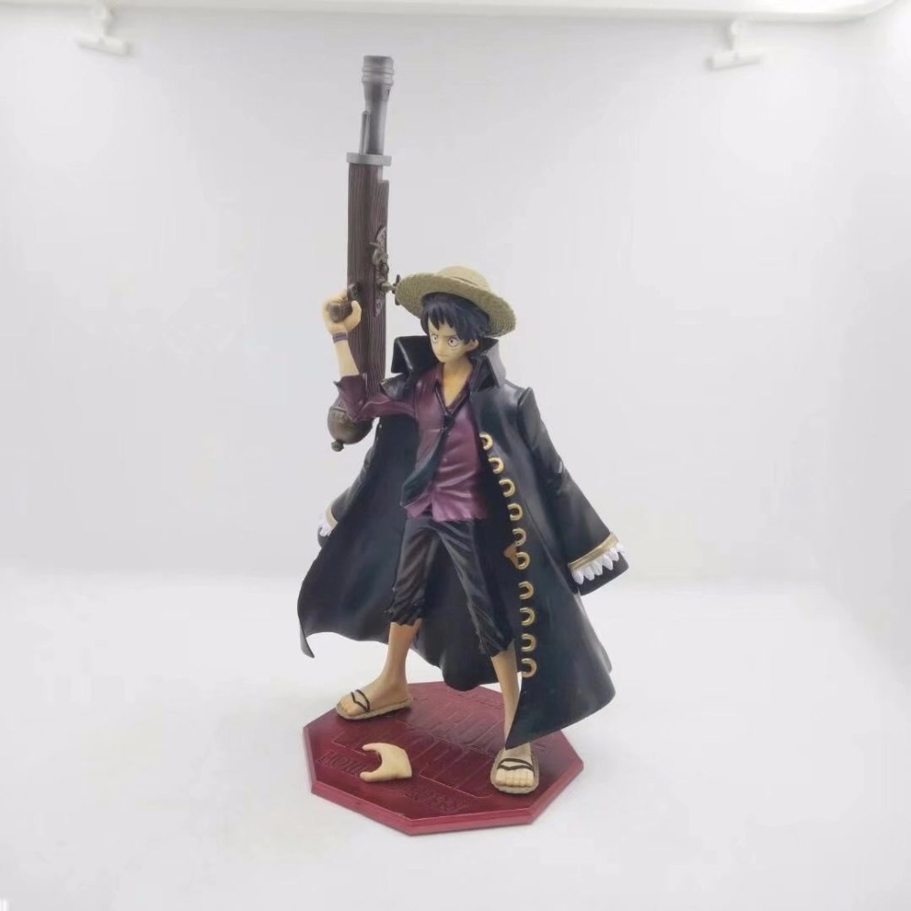 One Piece POP Monkey D Luffy New World 10th Anniversary 23cm PVC Action Figure Collection Model Toy Gift