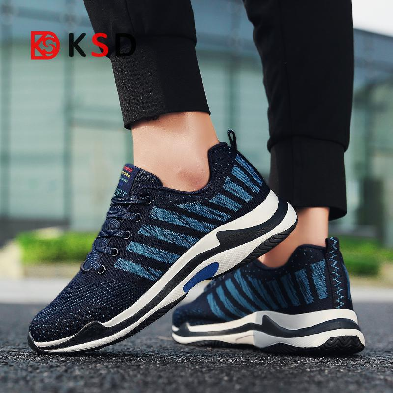 Running Shoes New 2018 Spring/autumn Men Breathable Sports Shoes Outdoor Jogging Walking Athletic Shoes Zapatillas Deportivas