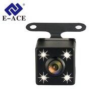 E-ACE I02 Auto DVR Auto Retromarcia Telecamera di Parcheggio Linea di Videocamera vista posteriore Con 4 LED di Visione Notturna Impermeabile Grandangolare per Auto Dash macchina fotografica