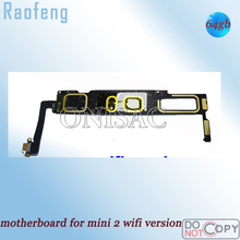 Raofeng full Function Wifi Version 64GB  Unlocked Motherboard For ipad mini 2 well working For  Tablet PC mainboard  logic board