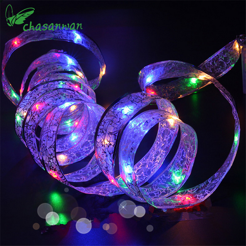 New 4 Meters 40 LED Lights Star Moon Light String ...