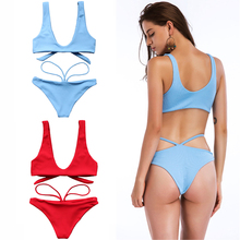 Push Up Beach Suit with Padded