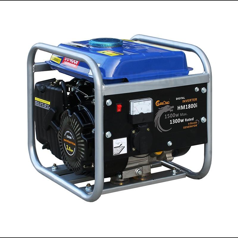 1kw inversor digital gerador baixo consumo de combustivel do gerador 220 v