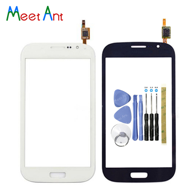Para Samsung Galaxy Grand GT i9082 i9080 Neo i9060 i9062 i9063 más i9060i digitalizador de pantalla táctil Sensor de Lentes de vidrio exterior panel