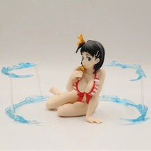 Sword Art Online Kirigaya Suguha Bikini Swimsuit Ver Anime Sexy Figure PVC Action Figure Collectors Model Toy L1378