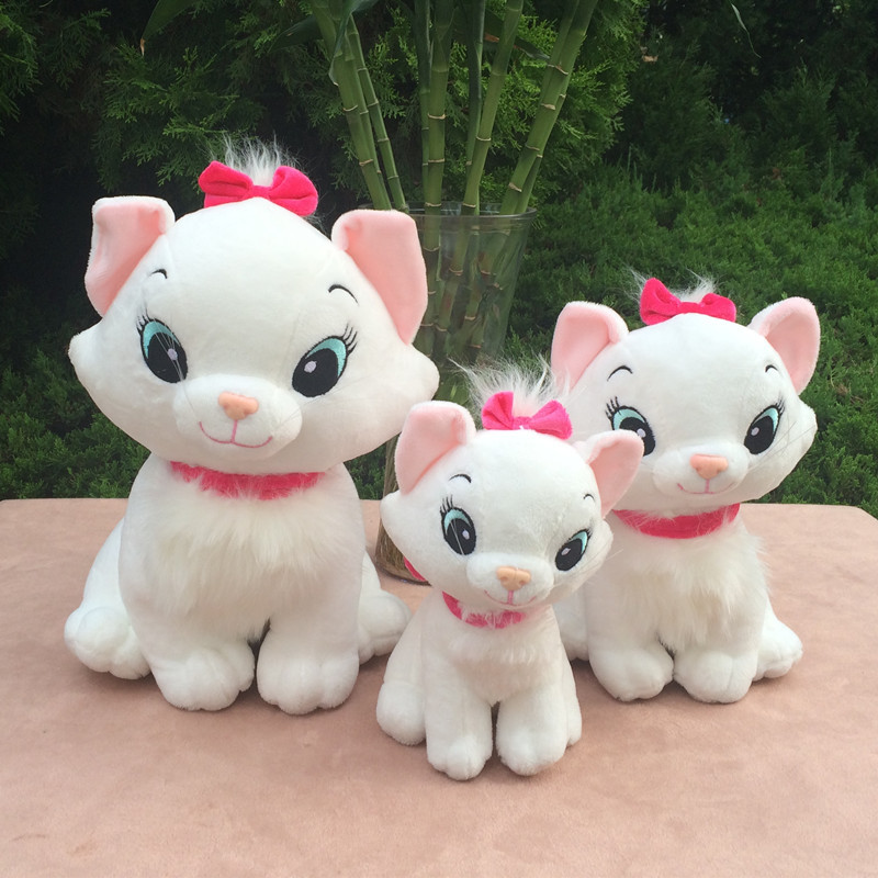 1pc 20cm 26cm cartoon sweet Marie Cat baby plush doll creative pacify sleepy stuffed toy girl children Christmas day gift