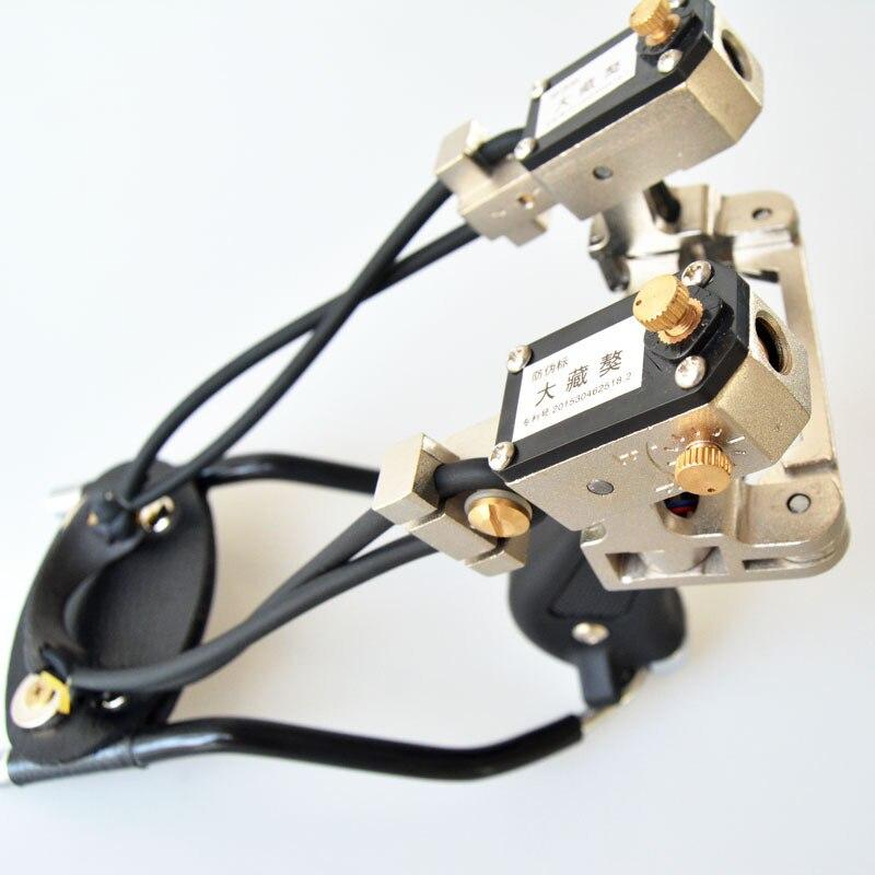 alta qualidade com laser infravermelho estilingue avistamento de aco inoxidavel precisao competitiva