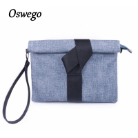 Lunch Bag Elastic Bow Clutch Panelled Casual Day Clutch Bags PU Leather Unique Knot Decoration Daily Bag Handbags for Ladies
