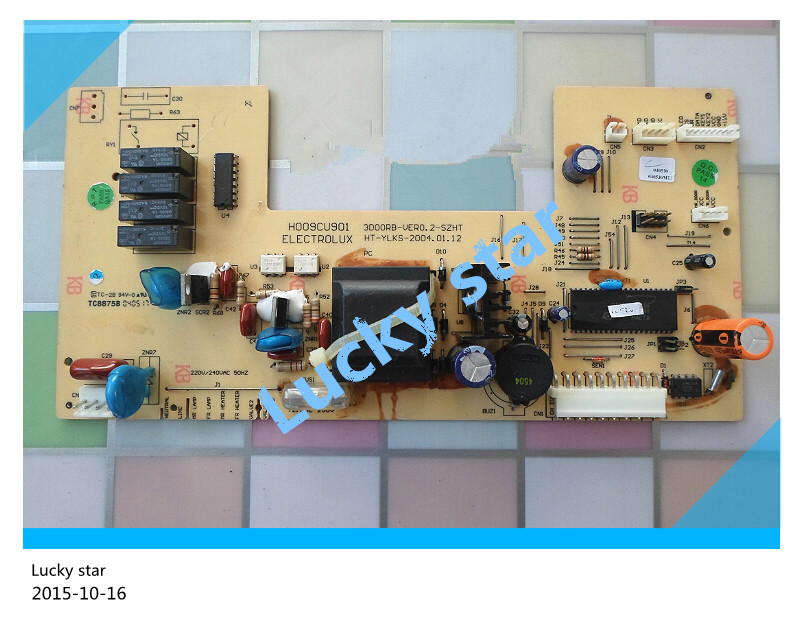 95% new for Electrolux refrigerator computer board circuit board H009CU901 BCD-291VI VER0.2-SZHT HT-YLKS board good working 95% new for haier refrigerator computer board circuit board bcd 219bsv 229bsv 0064000915 driver board good working