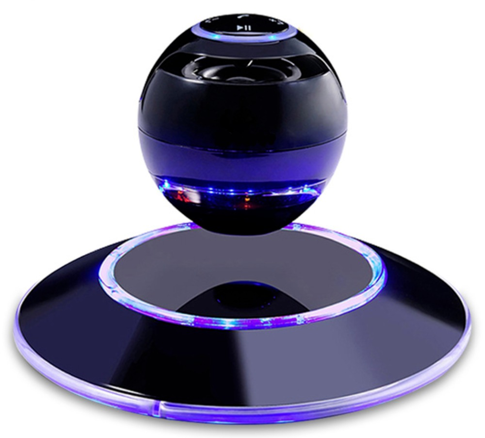 DJYG LED LEVITATING BLUETOOTH SPEAKER 3D Floating MAGLEV Wireless Magnetic Levitation купить в Москве 2019