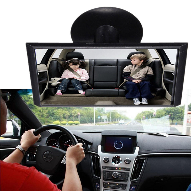 Mini Car Safety Easy View Back Seat Mirror Baby Facing Rear Ward Child Infant Care Adjustable Baby Kids Monitor Car Accessories
