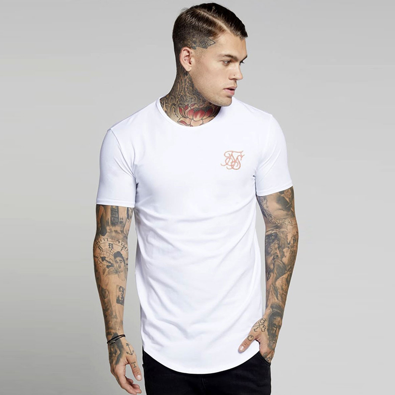 extend hip hop street   T  -  shirt   man wholesale fashion   t     shirts   men summer Kanye West Sik SilK short sleeve oversize pure color
