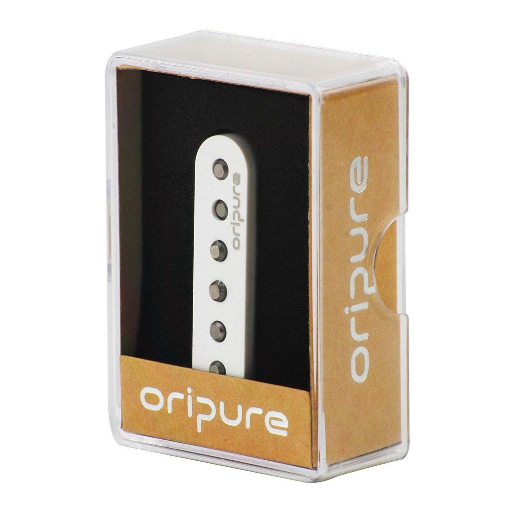 OriPure 3 pièces/ensemble de Vintage Alnico 5 pick guitare simple bobine pick-up cou/milieu/pont décalé pour FD Strat couleur blanche - 5