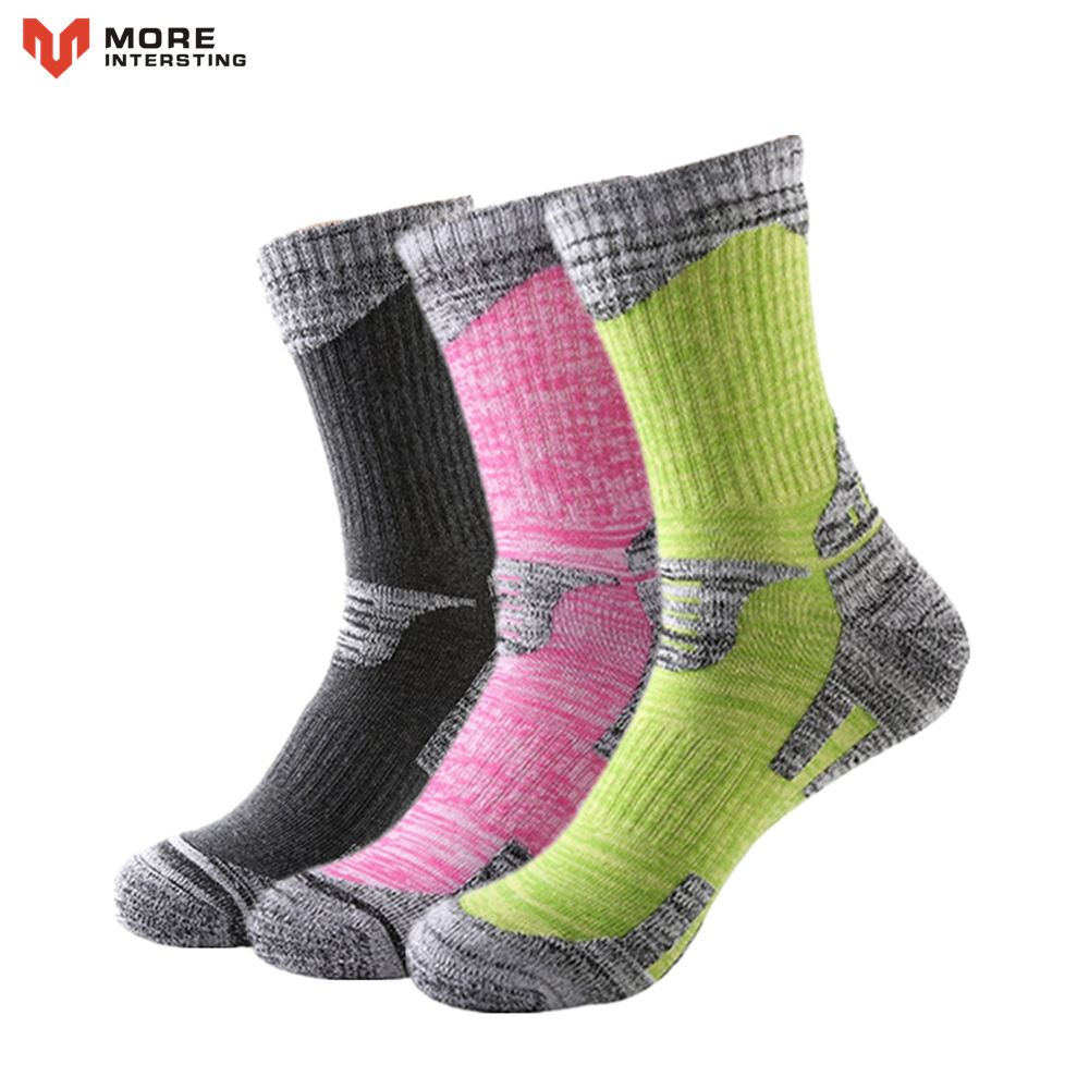 Men Women Football Socks Professional Anti Slip Soccer Socks Cotton Calcetines Compression Hiking Ski Socks Soft Thicken meias