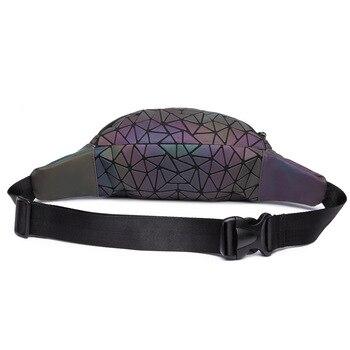 Luminous Geometry Waist Bags  2