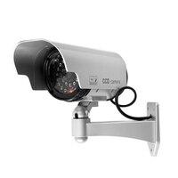 Fake Dummy Camera Solar Powered Indoor Outdoor Dummy Security Camera Bullet Cctv Camera Surveillance Camaras De