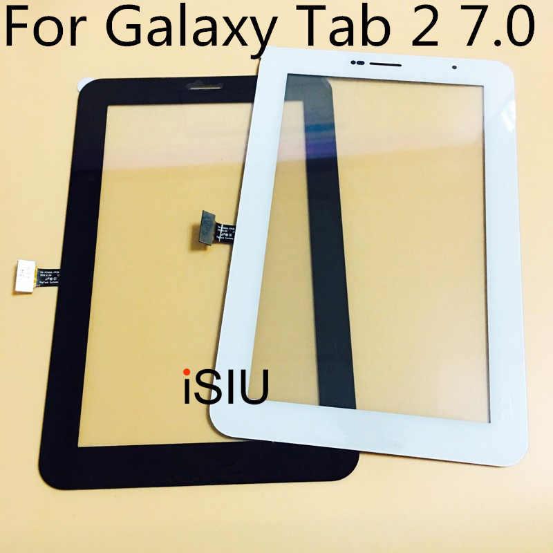 لسامسونج غالاكسي تبويب 2 7.0 P3100 P3110 شاشة تعمل باللمس Tab2 GT-P3100 GT-P3110 شاشة الكريستال السائل اللوحي لمس الزجاج الاستشعار أجزاء