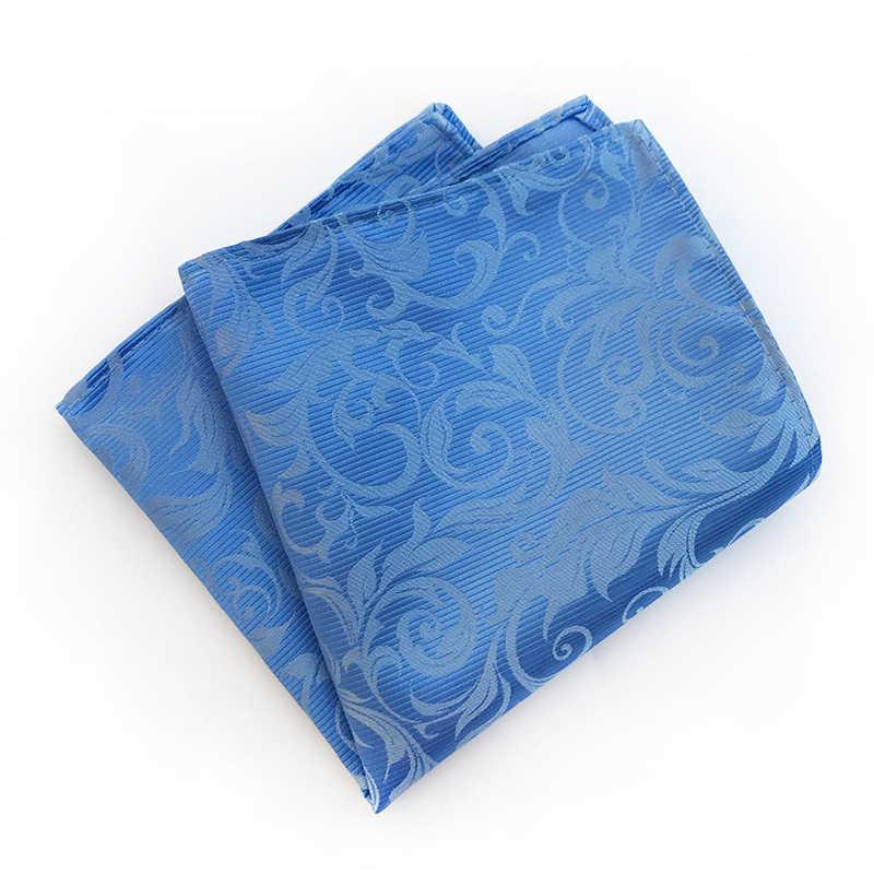Носовые платки винтажные хлопчатобумажные носовые платки мужские квадранные Карманные Платки роза цветок Пейсли