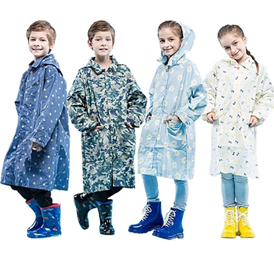 Enfants Imperméable Poncho Imperméable Garçons En Plein Air Bébé Manteau de Pluie Hommes Couverture Costume Filles Enfants Imperméable pour Enfants LZO018