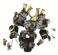 10800 Ninjagoing Movie Quake Mech Compatible with 70632 Logoings Ninja Block Set Creative Building Toy 1232Pcs gifts