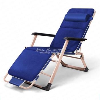 Silla plegable portátil, silla de brazo de ángulo de inclinación ajustable para...