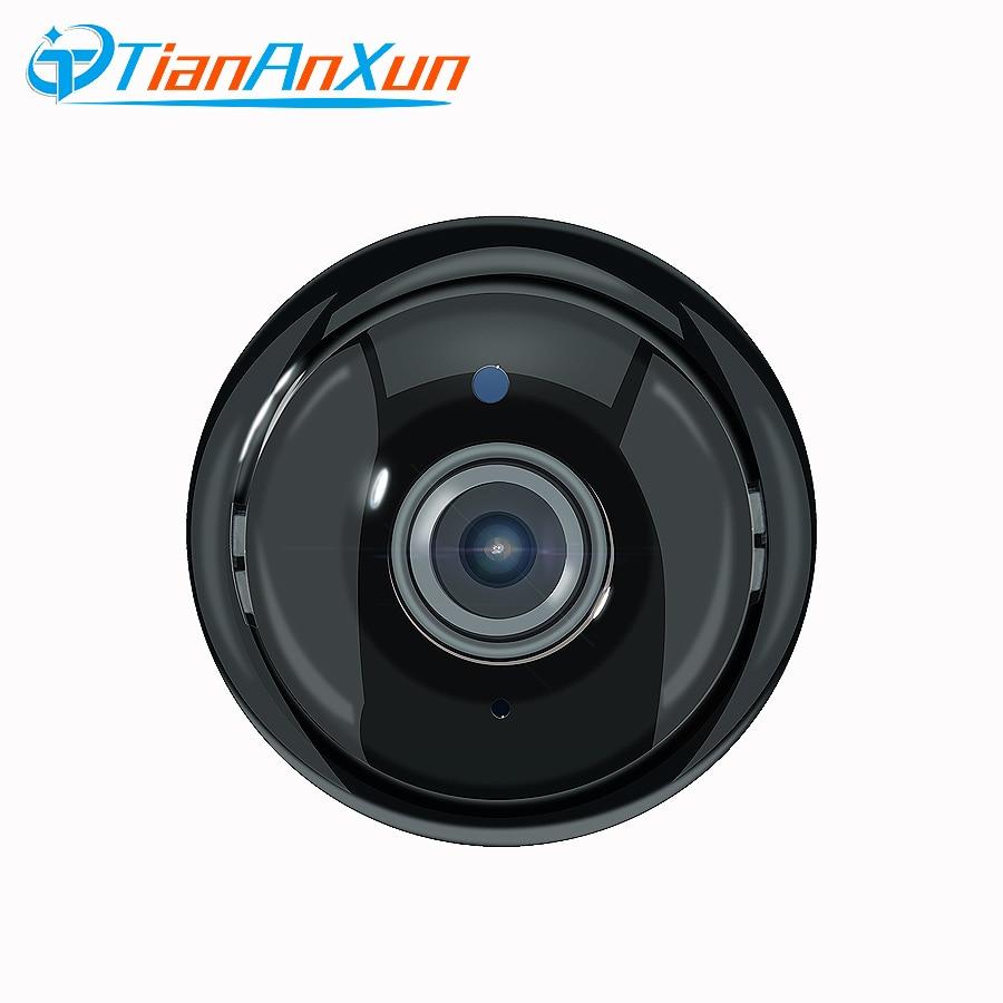 TIANANXUN Sans Fil Mini WIFI IP Caméra 180 Degrés Grand Angle 720 P Nuit Vision Sécurité À La Maison Intelligente Caméra Deux-façon voix YOOSEE