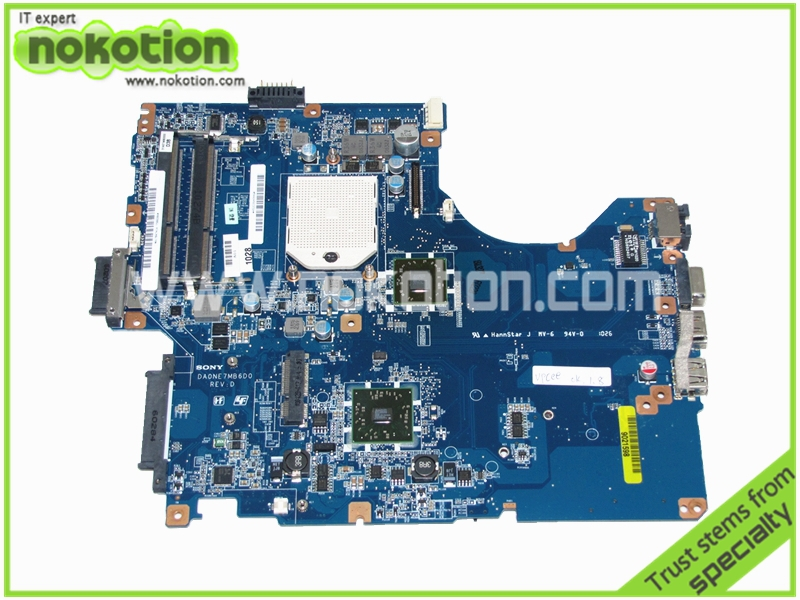A1784741A PCG61611M DA0NE7MB6D0 laptop motherboard for sony vaio vpcee series amd ATI HD4200 ddr3 Mainboard High Quality