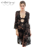 Laies Sexy Lingerie Hot Lace Dress Underwear Black Babydoll Sexy Sleepwear Plus Size Sexy Costume Free