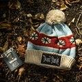 ОРИГИНАЛ, не Голодали Женщин меховая шапка для зимнего вязаный шерстяной шапочки крышка пушистый мех pom pom шляпы brand new мода повседневная шапки идти